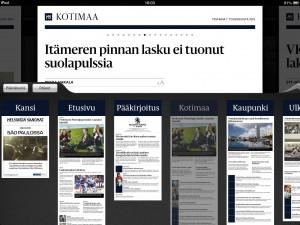 Helsingin Sanomat (zrzut ekranu)